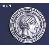 101/N Athena Shield Brooch