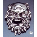 102 Dionysus theater mask brooch