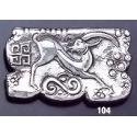 104 Minoan 'Kri-Kri' mural brooch