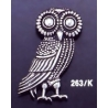 263/K Owl of Wisdom brooch
