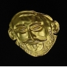 308/GPL Agammemnon Mask Gold plated sterling silver