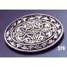 379 Ornate brooch oval