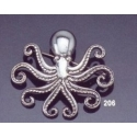 206 Octopus brooch