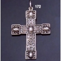 172 Detailed Granular Typical Byzantine Cross Design
