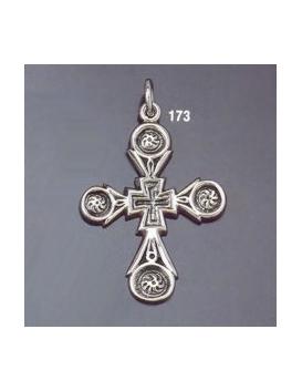 173 Silver Byzantine/Knights Templar Cross pattée
