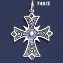 740/S Byzantine Baptism Cross