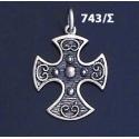 743/S Byzantine Baptism Cross