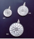612 Macedonia Star/Sun/Starburst pendant L