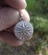 614 Macedonia Sun pendant in Sterling silver (Greek Jewelry Shop)