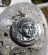 54 Amphipolis coinage pendant featuring Greek god Apollo - Amphipolis treasure
