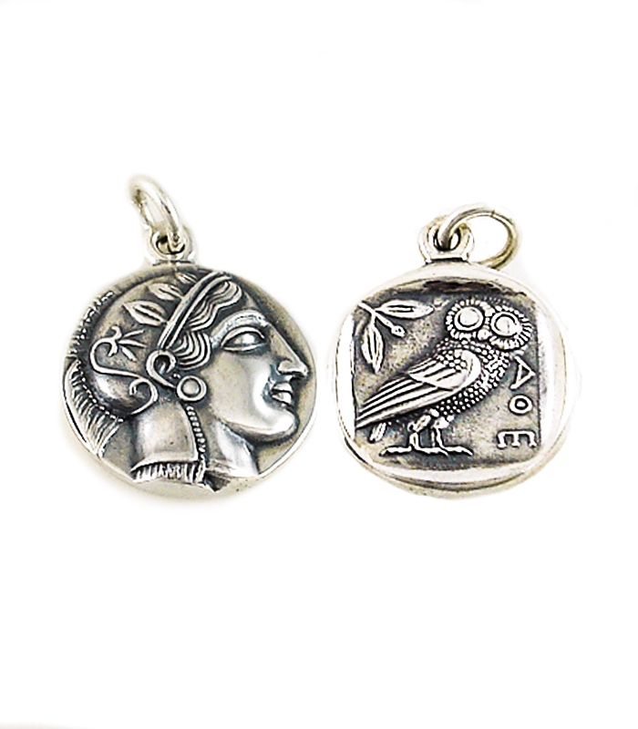 greek jewelry shop pendants and necklaces athena