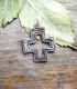 27 Byzantine imperfect cross - (Greek Jewelry Shop)