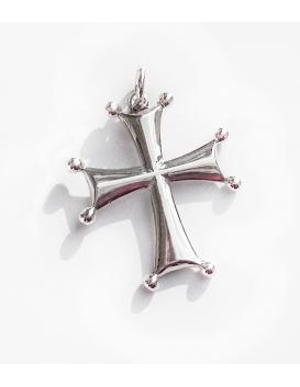 155 Sterling Byzantine/Knights Templar Cross patt+¬e pendant