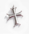 155 Sterling Byzantine/Knights Templar Cross pattée pendant