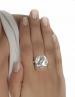 185 Owl of Wisdom silver greek wise owl ring