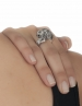Inspiring jewelry. The large lion ring