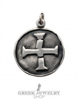 A100 Masters of poitou masonic seal & templar cross (cross pattée)