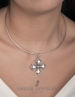 Sterling Silver Byzantine Cross pattée - Shop the finest Greek orthodox crosses online