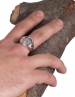 Arethousa - Artemis - Persephone Greek Goddess silver coin ring. Fine Greek Jewelry
