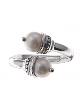 507/P Impressive Pearl Silver Ring