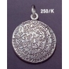 250/K Large Convex Phaistos disc pendant (29mm diameter)