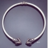237/T XLarge Ram torc collar necklace