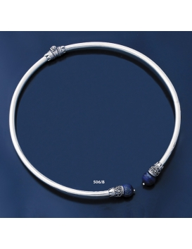 506/B Impressive Lapis Lazuli Ancient Collar Necklace (L)