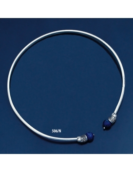 506/N Impressive Lapis Lazuli Ancient Collar Necklace