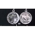 60 Athenian Didrachm, Goddess Athena, Lion