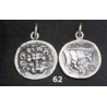62 Samos Lion head tetradrachm pendant