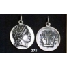 275 Chalkidian League god Apollo and Lyre/kithara