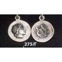 275/C Chalkidian League god Apollo and Lyre/kithara