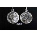 309/C Athens tetradrachm, Athena & Wise Owl