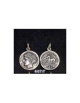 607/C Syracuse dekadrachm Artemis/Arethousa/Persephone