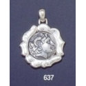 637 'wax seal bezel' Lysimachos tetradrachm (Alexander the Great)