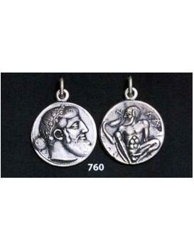 760 Dionysus/Bacchus phallic Satyr coin