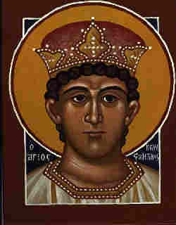 Constantine the Great, Byzantium/Byzantine icon