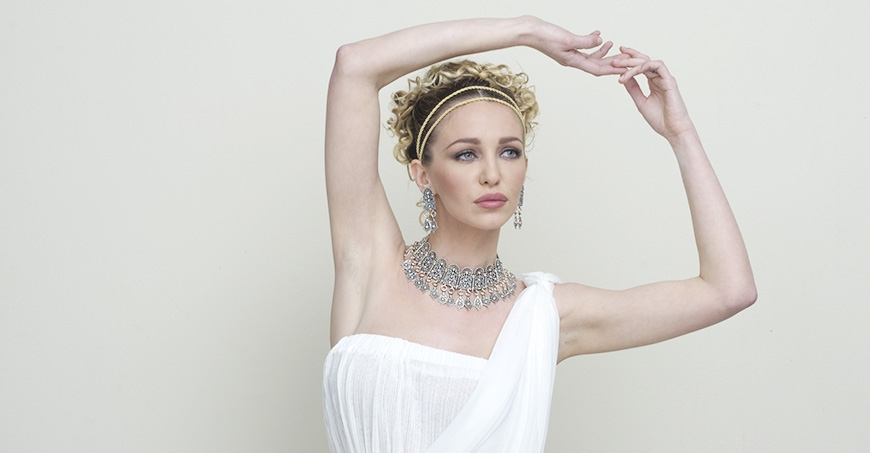 Attica. Fine silver necklace by Greek Jewelry Shop