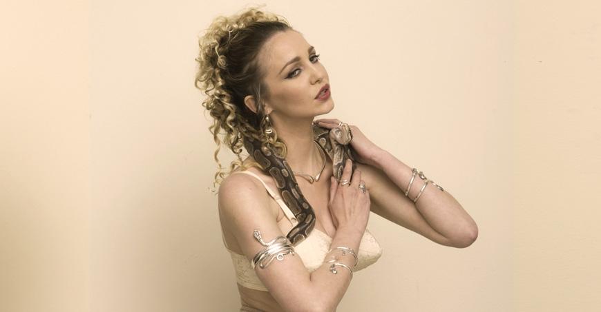 Silver snake jewelry, Snake Goddess bracelets, Greek Serpent jewellery.